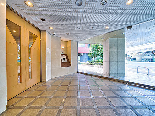 区分マンション-渋谷区恵比寿3丁目 安心のTVモニター付きオートロック