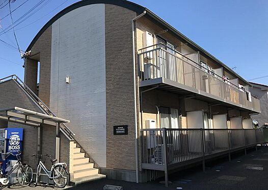 アパート-静岡市駿河区西島 2棟一括売買です。東側建物1 10戸