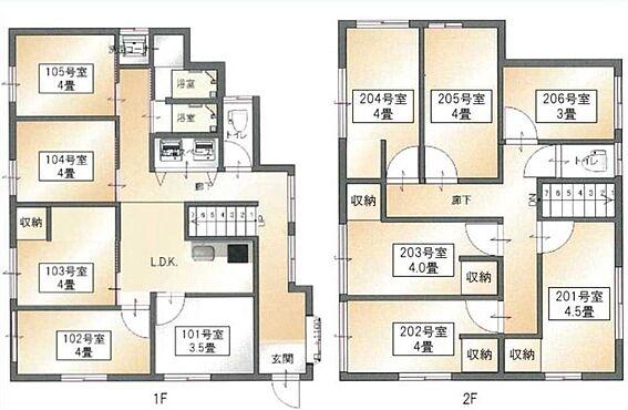 アパート-横浜市磯子区森2丁目 間取り