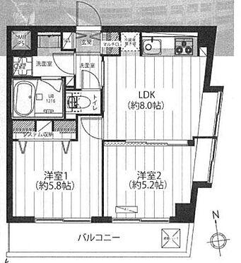 中古マンション-台東区今戸2丁目 間取り