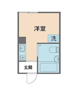 アパート-大田区蒲田本町 間取り