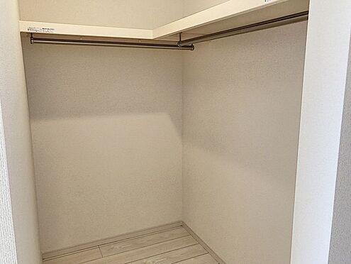 新築一戸建て-知多郡東浦町大字緒川字屋敷壱区 収納に大変便利なウォークインクローゼット付き