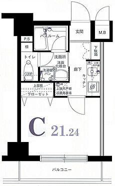 マンション(建物一部)-横浜市港北区新横浜1丁目 間取り