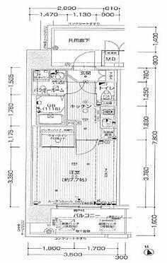 区分マンション-神戸市兵庫区新開地5丁目 間取り
