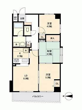 マンション(建物一部)-京都市中京区因幡町 間取り