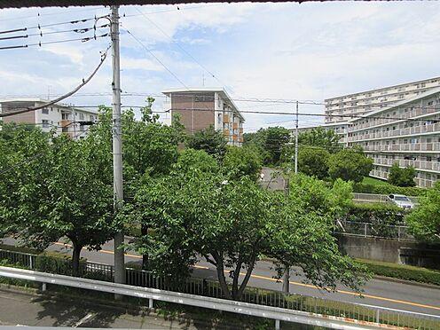 中古マンション-多摩市豊ヶ丘3丁目 北側西の窓からの眺望
