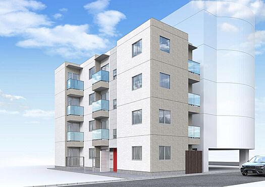 マンション(建物全部)-立川市錦町1丁目 完成予想外観CG