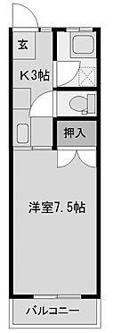 アパート-宮崎市吾妻町 間取り1K