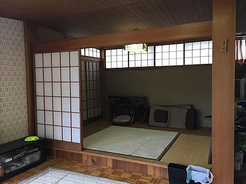 中古一戸建て-田方郡函南町平井 リビングに付設する和室。