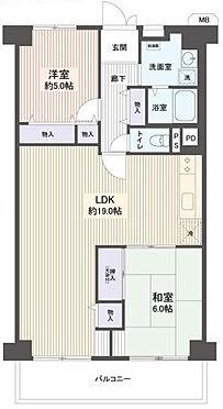 中古マンション-名古屋市千種区今池南 2LDKの最上階!