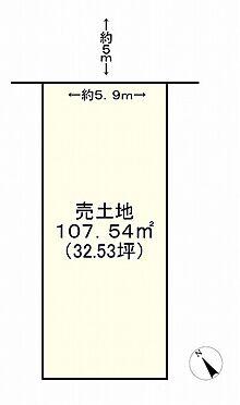 土地-神戸市垂水区西舞子4丁目 区画図