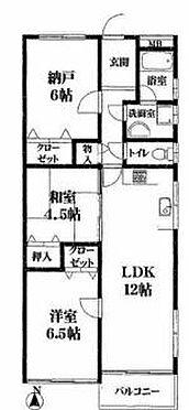 区分マンション-神戸市灘区原田通1丁目 間取り