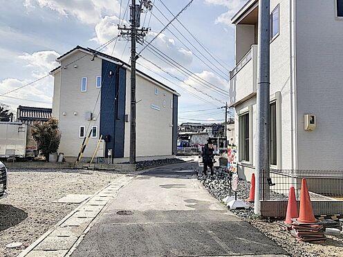 新築一戸建て-知多郡東浦町大字石浜字須賀 前面道路も十分な広さがございます