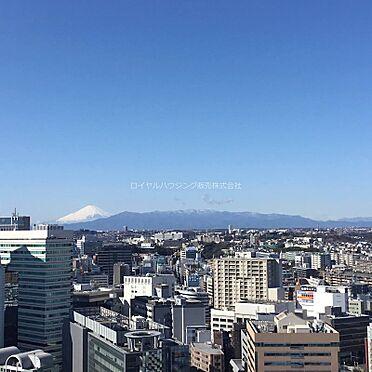 中古マンション-横浜市神奈川区栄町 晴れた日には富士山が望めます