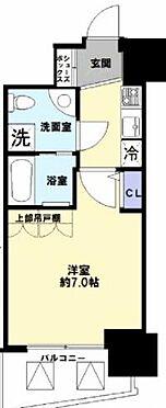区分マンション-大阪市中央区南久宝寺町3丁目 間取り
