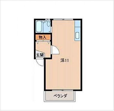 マンション(建物一部)-和歌山市栄谷 間取り
