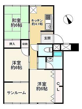 中古マンション-大阪市都島区友渕町3丁目 間取り