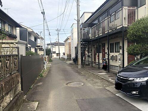 アパート-仙台市若林区二軒茶屋 前面道路