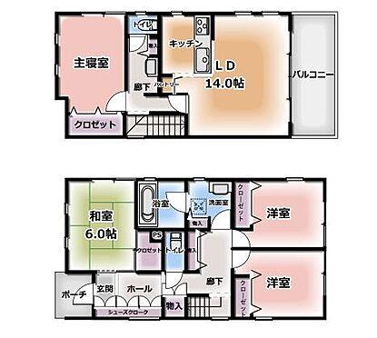 中古一戸建て-名古屋市北区八代町1丁目 収納スペースが豊富な室内です。