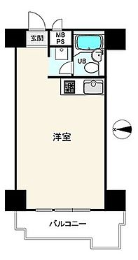 マンション(建物一部)-大阪市天王寺区生玉町 単身者向け1R