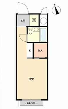 マンション(建物一部)-相模原市中央区共和2丁目 間取り