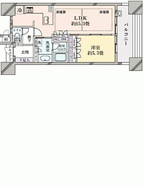 区分マンション-名古屋市中区富士見町 間取り