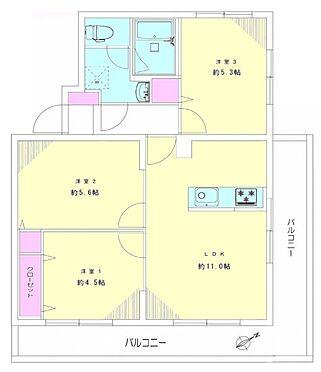 マンション(建物一部)-横浜市戸塚区戸塚町 間取り