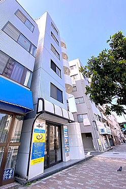 収益ビル-新宿区余丁町 建物外観(2021.3撮影)