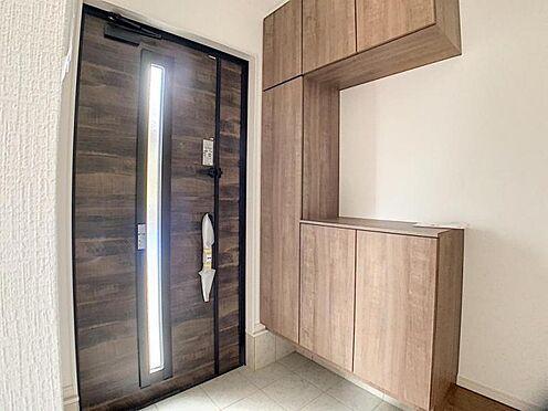 新築一戸建て-名古屋市守山区翠松園2丁目 収納が充実した玄関