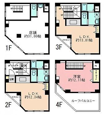 マンション(建物全部)-墨田区菊川3丁目 間取り