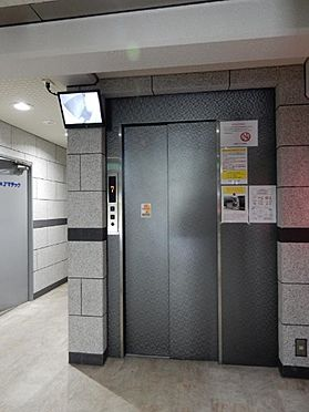 区分マンション-大阪市中央区南船場2丁目 防犯カメラ搭載エレベーター