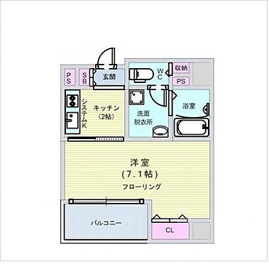 マンション(建物一部)-大阪市西区江戸堀1丁目 間取り