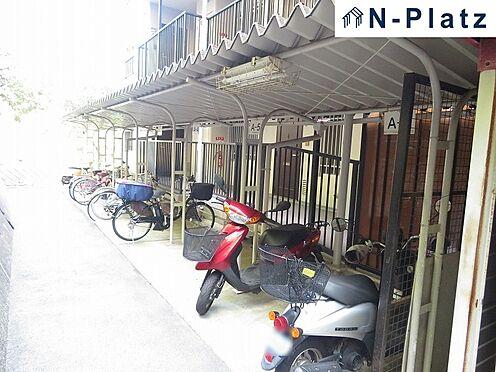 区分マンション-神戸市長田区高取山町2丁目 駐輪場は屋根付です♪