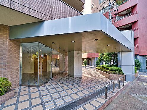 区分マンション-渋谷区恵比寿3丁目 ゆったりとしたエントランスアプローチ