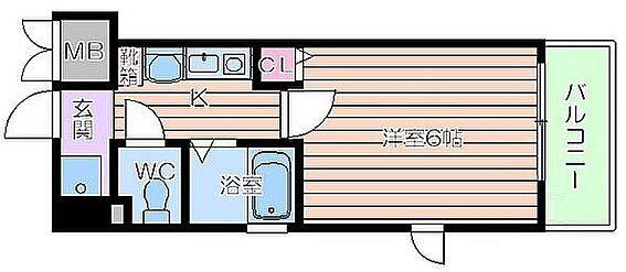 マンション(建物一部)-大阪市福島区福島6丁目 人気の角部屋