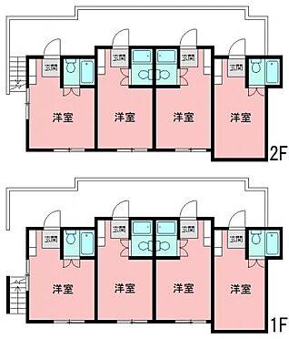 アパート-横浜市神奈川区神之木台 間取り