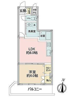 マンション(建物一部)-大阪市西区江戸堀3丁目 収納豊富な1LDK