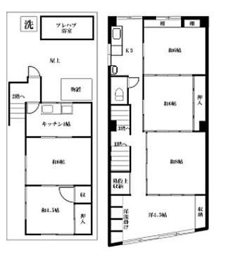 店舗(建物全部)-中野区中央5丁目 間取り