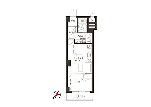 中古マンション-港区南青山4丁目 30.60m2、1DK