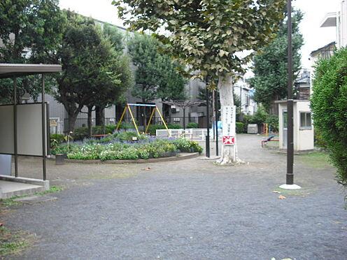 アパート-新宿区西早稲田1丁目 【公園】高田第二公園まで458m