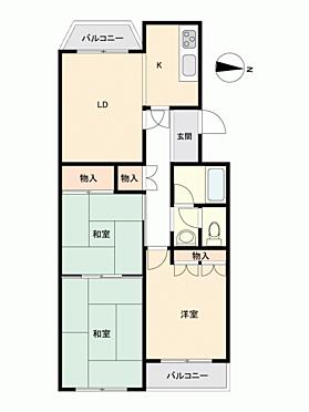 中古マンション-函館市松陰町 間取り