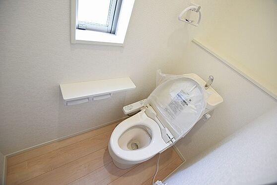 新築一戸建て-仙台市太白区西多賀5丁目 トイレ