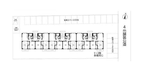 マンション(建物全部)-所沢市北中3丁目 間取り