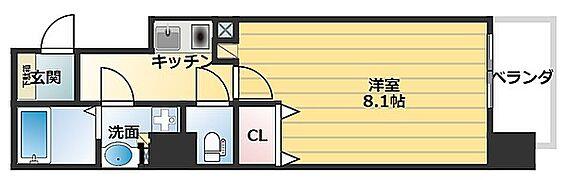 マンション(建物一部)-大阪市中央区材木町 バス・トイレ別