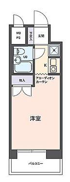 マンション(建物一部)-大阪市浪速区幸町2丁目 間取り