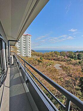 中古マンション-賀茂郡東伊豆町奈良本 こちらは東側のバルコニースペースです。