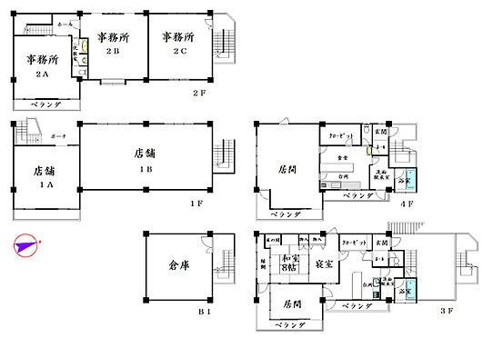 マンション(建物全部)-京都市左京区八瀬近衛町 間取り