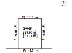 売土地 岐阜市尻毛2丁目  分譲全8棟
