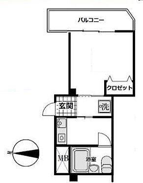 マンション(建物一部)-杉並区高円寺北3丁目 間取り