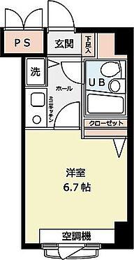 マンション(建物一部)-広島市西区横川町3丁目 間取り
